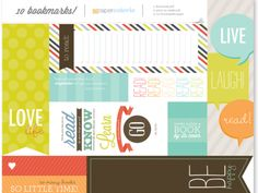 Free Printables = Book Marks