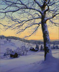 "Evgeny Lushpin ""Morning Glow""  2013"