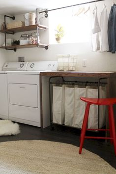 Best 20 Laundry Room Makeovers - Organization and Home Decor Laundry room decor Small laundry room organization Laundry closet ideas Laundry room storage Stackable washer dryer laundry room Small laundry room makeover A Budget Sink Load Clothes Laundry Sorter, Laundry Room Organization, Laundry Room Design, Organization Ideas, Laundry Organizer, Organizing Tips, Garage Laundry, Laundry Room Remodel, Small Laundry