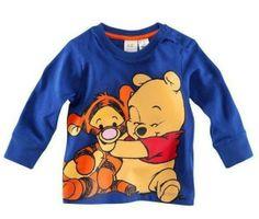 New free shipping kids clothes t-shirt 5pcs/lot cartoon tiger 100% cotton long sleeve t-shirts fashion children clothing $26.50