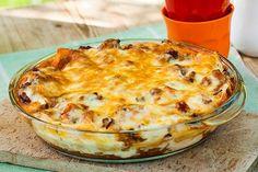 Lasagne Cauliflower, Macaroni And Cheese, Pasta, Vegetables, Ethnic Recipes, Food, Inspiration, Lasagna, Biblical Inspiration