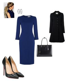 """Work"" by cgraham1 on Polyvore featuring Christian Louboutin, Goat and Prada"