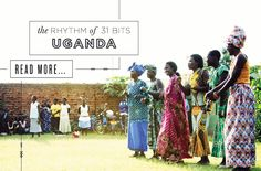 This is a great website for a great cause.  Beautiful beaded jewelry to help empower Ugandan women.  Check it out.