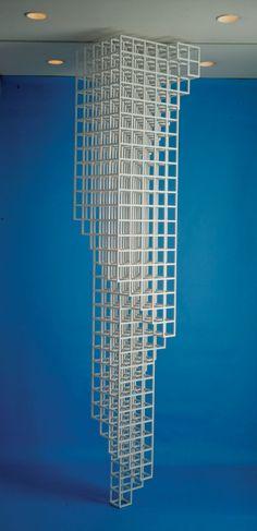 "Sol LeWitt, ""Inverted Spiraling Tower"", 1987"