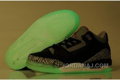 d5d9c0397daa0e Now Buy Air Jordan 3 Glow In The Dark Black Cement Grey Authentic Save Up  From Outlet Store at Footlocker.