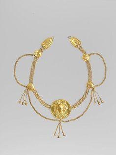 Kolye-Altın, Helenistik  MÖ 4-3 yy Güney İtalya