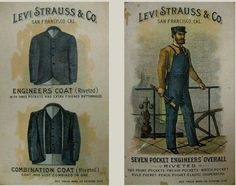 """Levi Strauss invented jeans in """"Old Hangtown!"""" while he was mining for gold, he realized the men would need something that they could work in, but also be durable."""