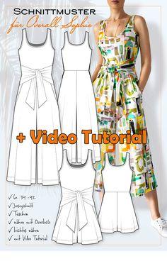 Fashion Sewing, Diy Fashion, Fashion Outfits, Clothes Crafts, Sewing Clothes, Clothing Patterns, Sewing Patterns, Love Sewing, Sewing Diy
