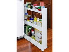 The Sliding Dorm Storage Tower Organizer College Accessories Dorm Shopping Not spending $30 on this when I could make something similar but I love the idea