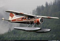 Carlin Air De Havilland Canada Beaver landing at Ketchikan… Sea Plane, Float Plane, Flying Boat, Fear Of Flying, Bush Pilot, Plane And Pilot, Amphibious Aircraft, Bush Plane, Private Plane