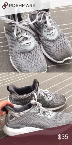 new style 5bb5c cb56d Adidas Alpha Bounce in gray Good condition adidas Shoes Athletic Shoes Alpha  Bounce, Allah,