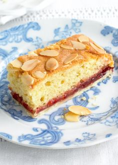 Bakewell Slices - The Happy Foodie