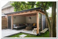 Outdoor backyard - incredible backyard storage shed design and decor ideas page 32 Patio Diy, Backyard Patio Designs, Pergola Patio, Patio Ideas, Pergola Kits, Diy Gazebo, Backyard Gazebo, Gazebo Ideas, Grill Gazebo