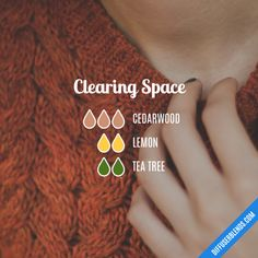 Clearing Space - Essential Oil Diffuser Blend