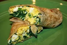 JOY Unspeakable: Delicious Breakfast Wrap {and HEALTHY!}
