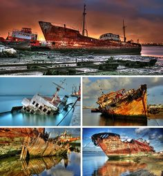 ship graveyards...would be pretty cool to explore*