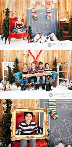 64201b3d35b97 Adorable Christmas Photography Session with Pink Antler Photography and   orange trunk  Vintage Styling and Rentals.