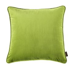 Green Square Throw Cushion Cover For Home Sofa Bed Pillow Case Decoration 18''