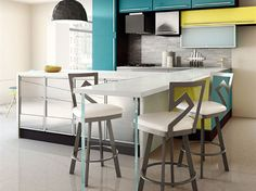 Element Dining Stools by Amisco