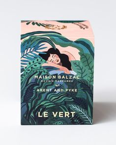 Image of Maison Balzac / Arent & Pyke - Le Vert. Beautiful, elegant packaging in. - Image of Maison Balzac / Arent & Pyke – Le Vert. Beautiful, elegant packaging inspired by book co - Branding And Packaging, Cool Packaging, Tea Packaging, Design Packaging, Packaging Stickers, Beauty Packaging, Cosmetic Packaging, Product Branding, Identity Branding