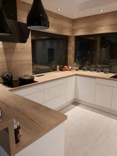 Kitchen Room Design, Kitchen Cabinet Design, Modern Kitchen Design, Home Decor Kitchen, Kitchen Living, Interior Design Kitchen, Home Kitchens, Cuisines Design, Home Remodeling