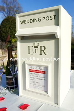 Luxury Wedding Post Box In White We Would Love To Know What You Think