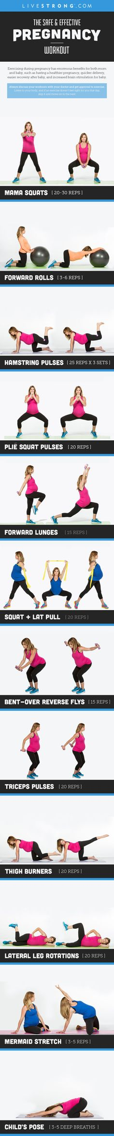 Exercising during pr