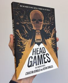 HEAD GAMES: THE GRAPHIC NOVEL, coming out on October 24, 2017 from First Second Books (Macmillan US). Advance review copies arrived just in time for Book Expo America 2017!