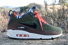 Nike Air Max 90 SneakerBoot: Legion Green