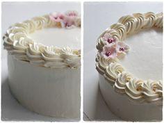 Romantic Fondant Cakes, Cupcake Cakes, Cupcakes, Swirl Cake, Whipped Butter, Surprise Cake, Ombre Cake, Ruffle Cake, Pretty Cakes