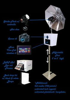 EZPhotobooths are the manufacture of portable photo booth. It can provide the different type for events. Weddings, Wedding Receptions, Birthday Parties, Holiday Parties, Corporate Events etc Photo Booth Stand, Diy Photo Booth, Wedding Photo Booth, Photo Booths, Photo Booth Printer, Foto Flash, Diy Fotokabine, Portable Photo Booth, Photo Booth Business