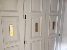 These Lisa Jarvis pulls look great on these closet doors! Thanks to our client, Mark Savery for sharing his photo with us! Come see other great pulls by Lisa Jarvis in our showroom today!