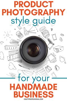 Develop a photography style guide, and download a free PDF template, so you can create consistent product photos for your brand. #productphotography #handmadebusiness #craftprofessional Photography Lighting Setup, Light Photography, Fashion Photography, Product Photography, Selling Crafts Online, Craft Online, Where To Sell, Color Balance, Photography Lessons