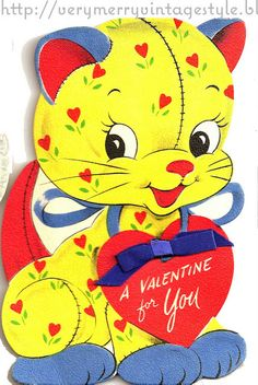 Very Merry Vintage Syle: Hello Kitty {Vintage Valentines}