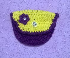 Porta moeda em crochê. www.bellezasul.blogspot.com.br