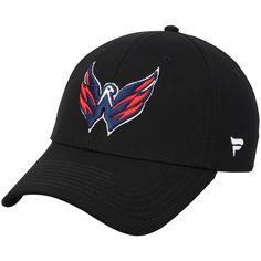 3ec3fc0a14c Men s Washington Capitals Fanatics Branded Black 2018 Stanley Cup Champions  Elevated Speed Stretch Flex Hat