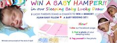 To all you parents out there, you can win a memory foam pillow and a bedding set for your baby! Grannies, grandpas, aunties and uncles can enter too :-)    https://www.facebook.com/pages/Tula-Baby/318565818186879
