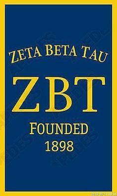 Zeta Beta Tau Vertical