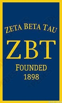 Zeta Beta Tau Vertical