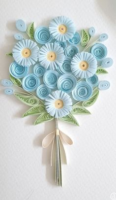 Paper Quilling Earrings, Arte Quilling, Quilling Work, Origami And Quilling, Quilling Paper Craft, Paper Crafts Origami, Quilling Flowers Tutorial, Paper Quilling Flowers, Paper Quilling Cards