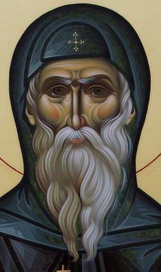 Anthony The Great, Roman Church, St Sebastian, Byzantine Icons, Orthodox Icons, Religious Art, Christianity, Catholic, Saints