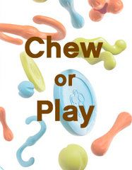 Chew vs. Play - Choose the right dog toy | West Paw Design