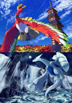 pokemon ho oh tower Pokemon Memes, All Pokemon, Pokemon Fan Art, Pokemon Stuff, Pokemon Lugia, Pikachu, Powerful Pokemon, Videogames, Mythical Pokemon