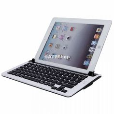 $48.98 Stylish Keyboard Bluetooth M5 Slot for Samsung Galaxy Tab P7300 Black and White from Android Tablet and Phone
