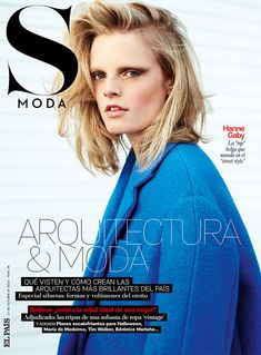 Hanne Gaby Odiele Styles and Stars in S Modas October 2012 Cover Story
