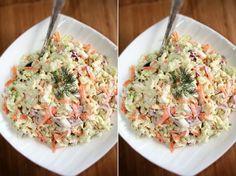Surówka z kapusty pekińskiej z sosem tzatziki ♥♥♥ PRZEPYSZNA ♥ Potato Salad, Potatoes, Ethnic Recipes, Food, Dish, Potato, Hoods, Meals