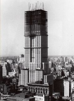 1929-1931: Construction of the Empire State
