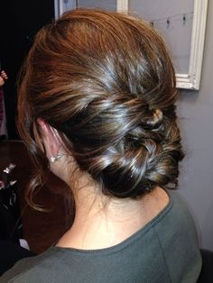 simple updos for medium length hair - Google Search