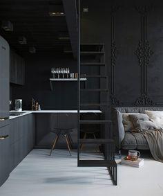 mystical black apartment