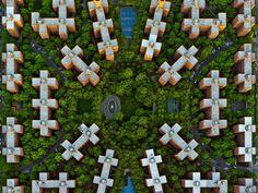 11 - Jeffrey Milstein - NYC Stuyvesant. Fotografia aerea NY, urban landscapes.